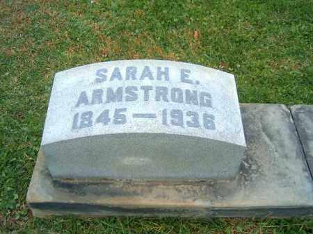 ARMSTRONG, SARAH  E - Brown County, Ohio | SARAH  E ARMSTRONG - Ohio Gravestone Photos
