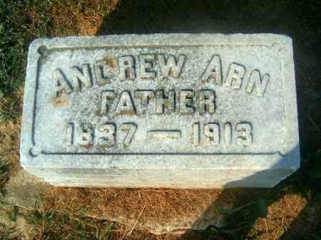 ARN, ANDREW - Brown County, Ohio | ANDREW ARN - Ohio Gravestone Photos