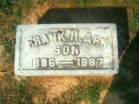 ARN, FRANK   H - Brown County, Ohio | FRANK   H ARN - Ohio Gravestone Photos