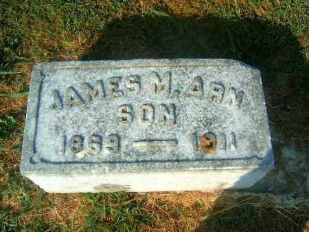 ARN, JAMES  M - Brown County, Ohio | JAMES  M ARN - Ohio Gravestone Photos