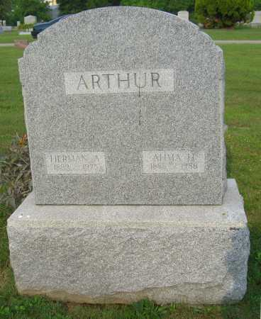 ARTHUR, HERMAN - Brown County, Ohio | HERMAN ARTHUR - Ohio Gravestone Photos