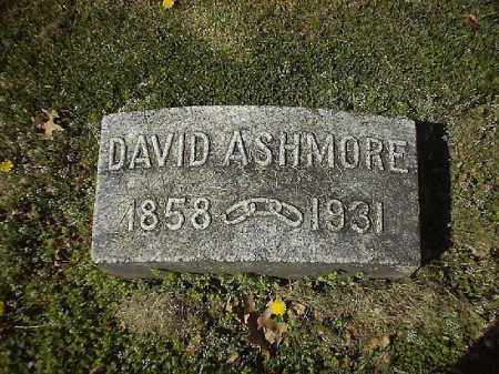ASHMORE, DAVID - Brown County, Ohio | DAVID ASHMORE - Ohio Gravestone Photos