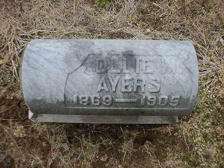 AYERS, OLLIE  M - Brown County, Ohio | OLLIE  M AYERS - Ohio Gravestone Photos