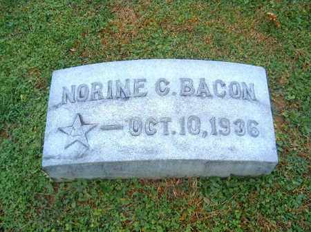 BACON, NORINE C - Brown County, Ohio | NORINE C BACON - Ohio Gravestone Photos
