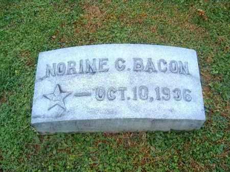 BACON, NORINE C - Brown County, Ohio   NORINE C BACON - Ohio Gravestone Photos