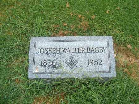 BAGBY, JOSEPH WALTER - Brown County, Ohio | JOSEPH WALTER BAGBY - Ohio Gravestone Photos