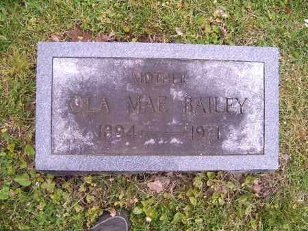 BAILEY, OLA MAE - Brown County, Ohio | OLA MAE BAILEY - Ohio Gravestone Photos