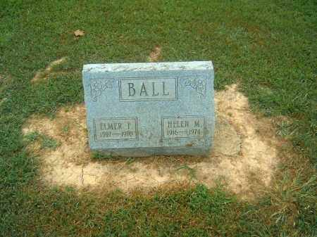BALL, ELMER  F - Brown County, Ohio | ELMER  F BALL - Ohio Gravestone Photos