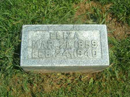 BARR, ELIZA - Brown County, Ohio | ELIZA BARR - Ohio Gravestone Photos