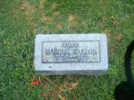 BARTON, MARCUS - Brown County, Ohio | MARCUS BARTON - Ohio Gravestone Photos