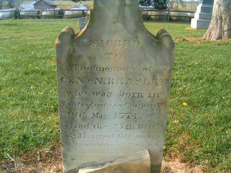 BEASLEY, NATHANIEL - Brown County, Ohio | NATHANIEL BEASLEY - Ohio Gravestone Photos