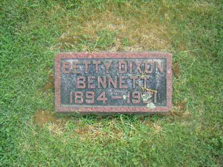 DIXON BENNETT, BETTY - Brown County, Ohio | BETTY DIXON BENNETT - Ohio Gravestone Photos