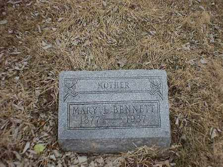 BENNETT, MARY  L - Brown County, Ohio | MARY  L BENNETT - Ohio Gravestone Photos