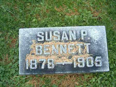 BENNETT, SUSAN  P - Brown County, Ohio | SUSAN  P BENNETT - Ohio Gravestone Photos