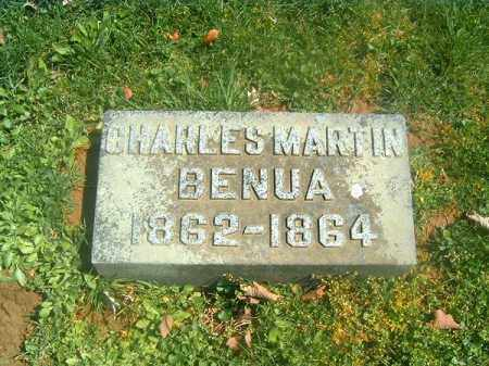 BENUA, CHARLES  MARTIN - Brown County, Ohio | CHARLES  MARTIN BENUA - Ohio Gravestone Photos