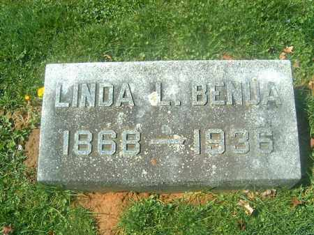 BENUA, LINDA  L - Brown County, Ohio | LINDA  L BENUA - Ohio Gravestone Photos