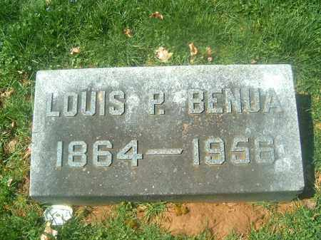 BENUA, LOUIS P - Brown County, Ohio | LOUIS P BENUA - Ohio Gravestone Photos