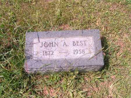 BEST, JOHN  A - Brown County, Ohio | JOHN  A BEST - Ohio Gravestone Photos