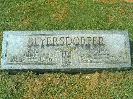 BEYERSDORFER, JACOB - Brown County, Ohio | JACOB BEYERSDORFER - Ohio Gravestone Photos