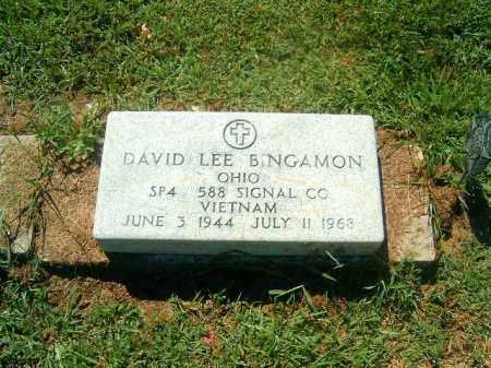 BINGAMON, DAVID  LEE - Brown County, Ohio | DAVID  LEE BINGAMON - Ohio Gravestone Photos