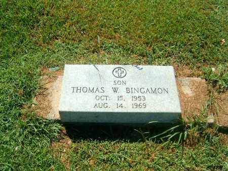 BINGAMON, THOMAS  W - Brown County, Ohio | THOMAS  W BINGAMON - Ohio Gravestone Photos
