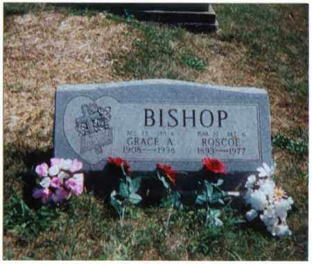 BISHOP, ROSCOE - Brown County, Ohio | ROSCOE BISHOP - Ohio Gravestone Photos