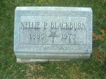 BLACKBURN, NELLIE  P - Brown County, Ohio | NELLIE  P BLACKBURN - Ohio Gravestone Photos