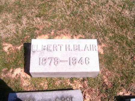 BLAIR, ELBERT  H - Brown County, Ohio | ELBERT  H BLAIR - Ohio Gravestone Photos