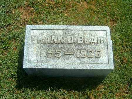 BLAIR, FRANK  D - Brown County, Ohio | FRANK  D BLAIR - Ohio Gravestone Photos