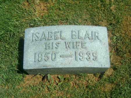 BLAIR, ISABEL - Brown County, Ohio | ISABEL BLAIR - Ohio Gravestone Photos