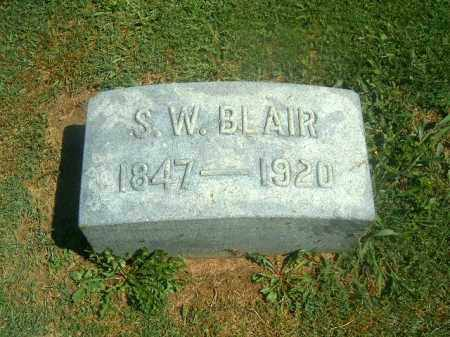 BLAIR, S   W - Brown County, Ohio | S   W BLAIR - Ohio Gravestone Photos