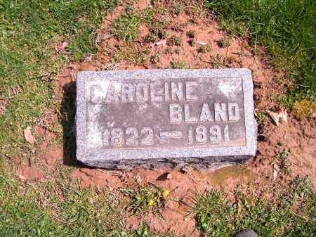 BLAND, CAROLINE - Brown County, Ohio | CAROLINE BLAND - Ohio Gravestone Photos