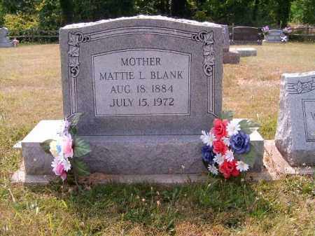 L BLANK, MATTIE - Brown County, Ohio | MATTIE L BLANK - Ohio Gravestone Photos