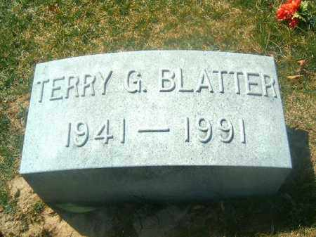 BLATTER, TERRY  G - Brown County, Ohio | TERRY  G BLATTER - Ohio Gravestone Photos