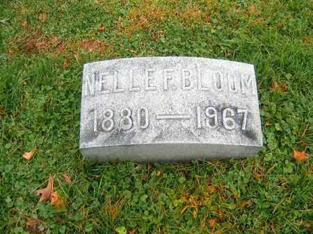 BLOOM, NELLE  F - Brown County, Ohio | NELLE  F BLOOM - Ohio Gravestone Photos