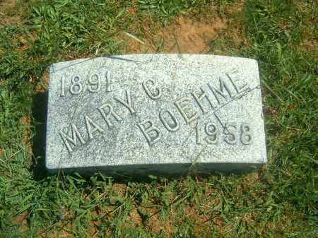 BOEHME, MARY  C - Brown County, Ohio | MARY  C BOEHME - Ohio Gravestone Photos