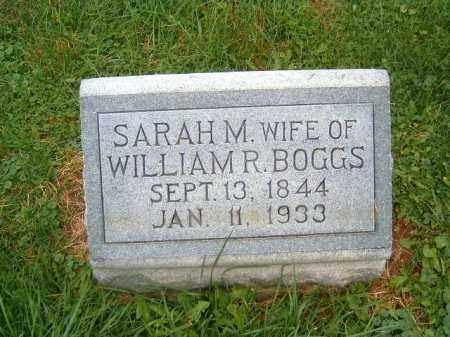 BOGGS, SARAH  M - Brown County, Ohio | SARAH  M BOGGS - Ohio Gravestone Photos