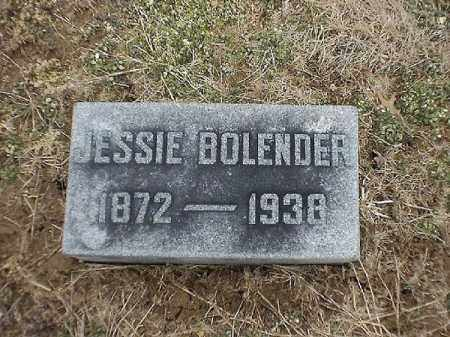 BOLENDER, JESSIE - Brown County, Ohio | JESSIE BOLENDER - Ohio Gravestone Photos