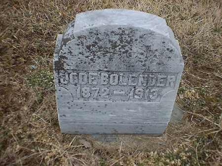 BOLENDER, JODE - Brown County, Ohio | JODE BOLENDER - Ohio Gravestone Photos