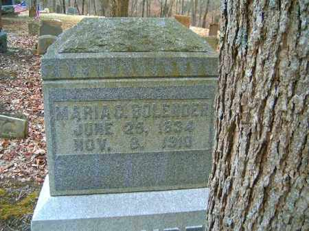 BOLENDER, MARIA  C - Brown County, Ohio | MARIA  C BOLENDER - Ohio Gravestone Photos