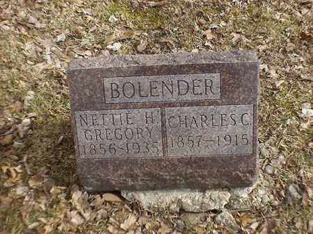 BOLENDER, CHARLES  C - Brown County, Ohio | CHARLES  C BOLENDER - Ohio Gravestone Photos