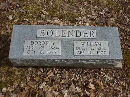 BOLENDER, WILLIAM - Brown County, Ohio | WILLIAM BOLENDER - Ohio Gravestone Photos