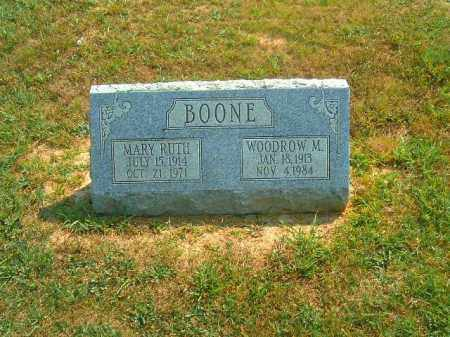 BOONE, WOODROW  M - Brown County, Ohio | WOODROW  M BOONE - Ohio Gravestone Photos