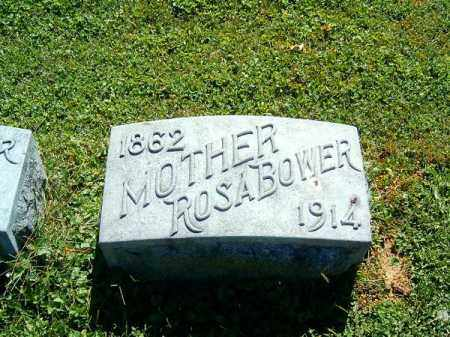 BOWER, ROSA - Brown County, Ohio | ROSA BOWER - Ohio Gravestone Photos