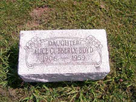 BOYD, ALICE - Brown County, Ohio | ALICE BOYD - Ohio Gravestone Photos