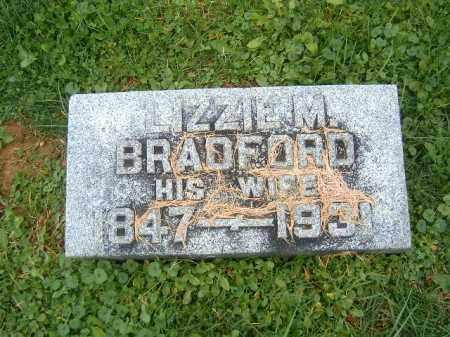 BRADFORD, LIZZIE  M - Brown County, Ohio | LIZZIE  M BRADFORD - Ohio Gravestone Photos