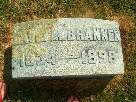 BRANNEN, DAVID - Brown County, Ohio | DAVID BRANNEN - Ohio Gravestone Photos