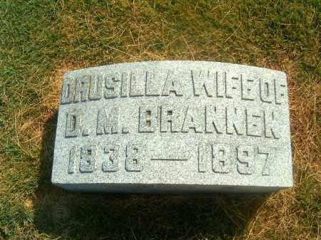 BRANNEN, DRUSILLA - Brown County, Ohio | DRUSILLA BRANNEN - Ohio Gravestone Photos