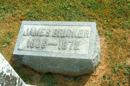 BRICKER, JAMES - Brown County, Ohio | JAMES BRICKER - Ohio Gravestone Photos