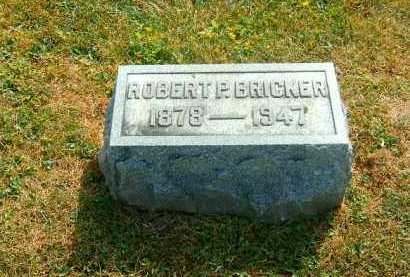 BRICKER, ROBERT   P - Brown County, Ohio | ROBERT   P BRICKER - Ohio Gravestone Photos